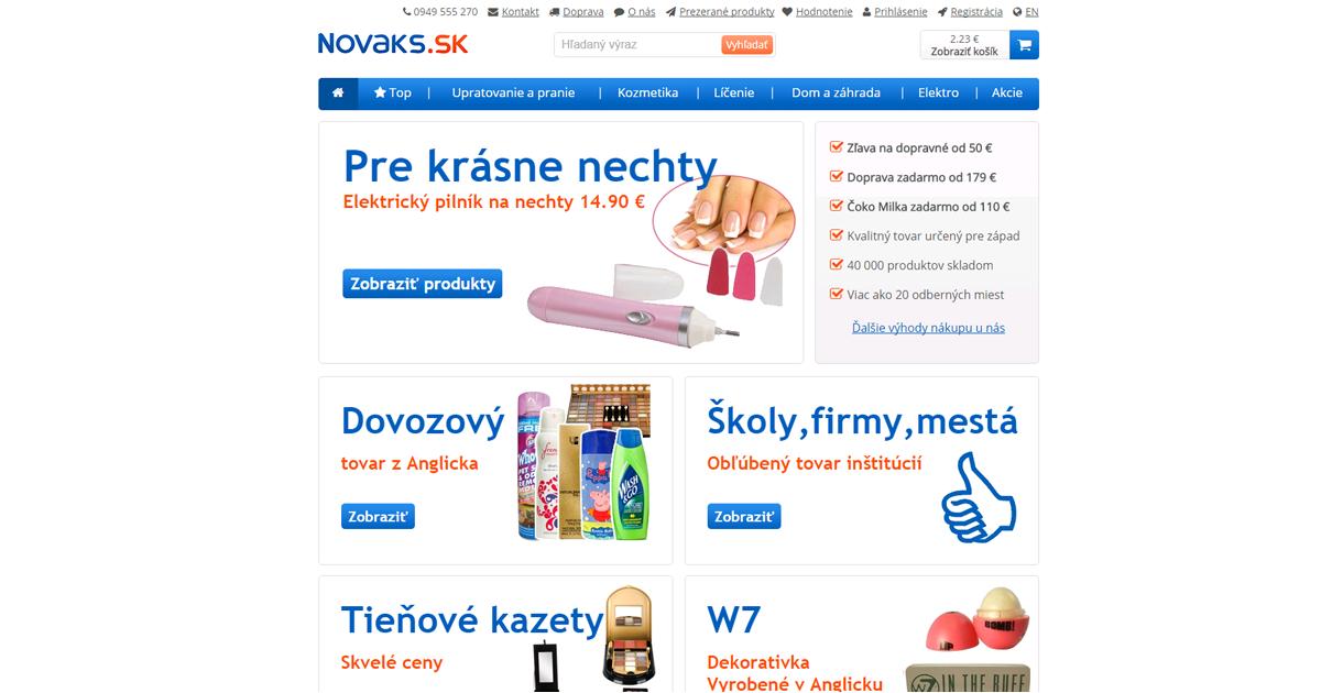 95c148fd16ff Drogéria e-shop online kozmezika